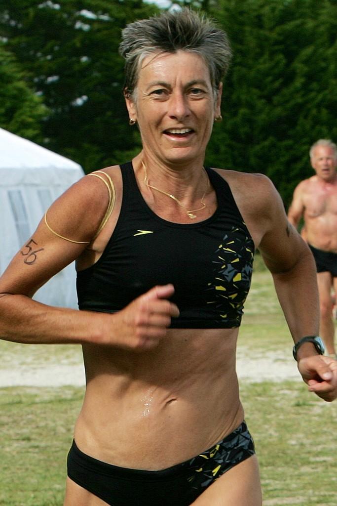 Triathlon-club de Quimper. Gwénola Joubel. Novembre 2011.