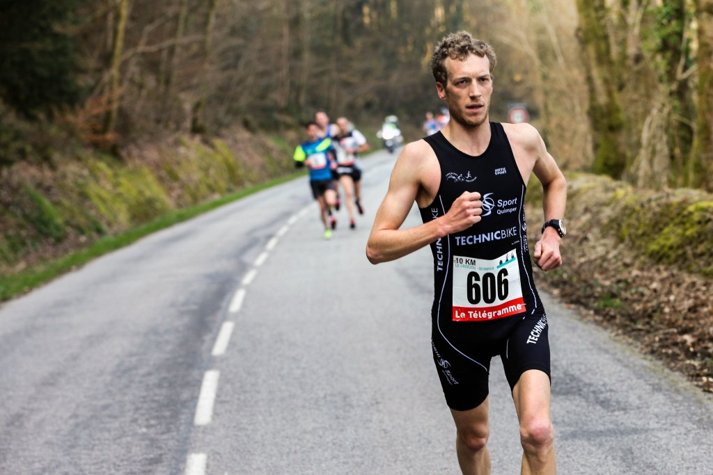 Semi-marathon Locronan-Quimper. Dimanche 13 mars 2016.