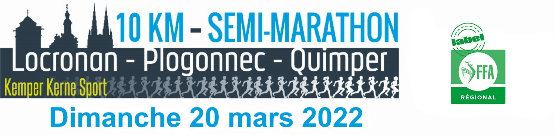 Semi-marathon Locronan-Quimper